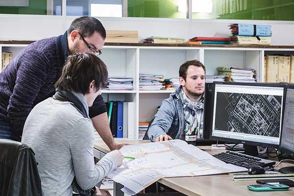 Bigourdan, géomètre expert VRD, Pays basque & Landes, VRD DAO