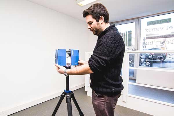 Bigourdan, géomètre expert VRD, Pays basque & Landes, relevé intérieur