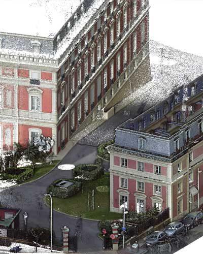 Bigourdan, géomètre expert VRD, Pays basque BAB & Landes, releve batiment 3D